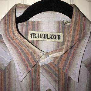 Pearl Snap Western Vintage Shirt